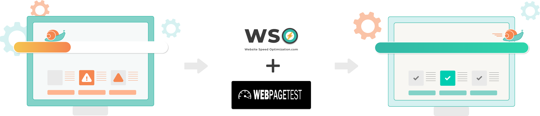 web page test image